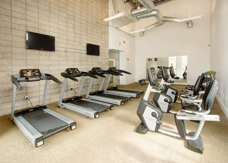 lb senior apartments gym facility